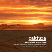 Rakiura Al Fraser CD Cover